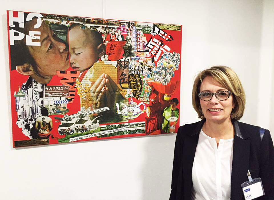 Christine Mottier-Minotti – Exposition « L'œil photographique », IMD, 2015